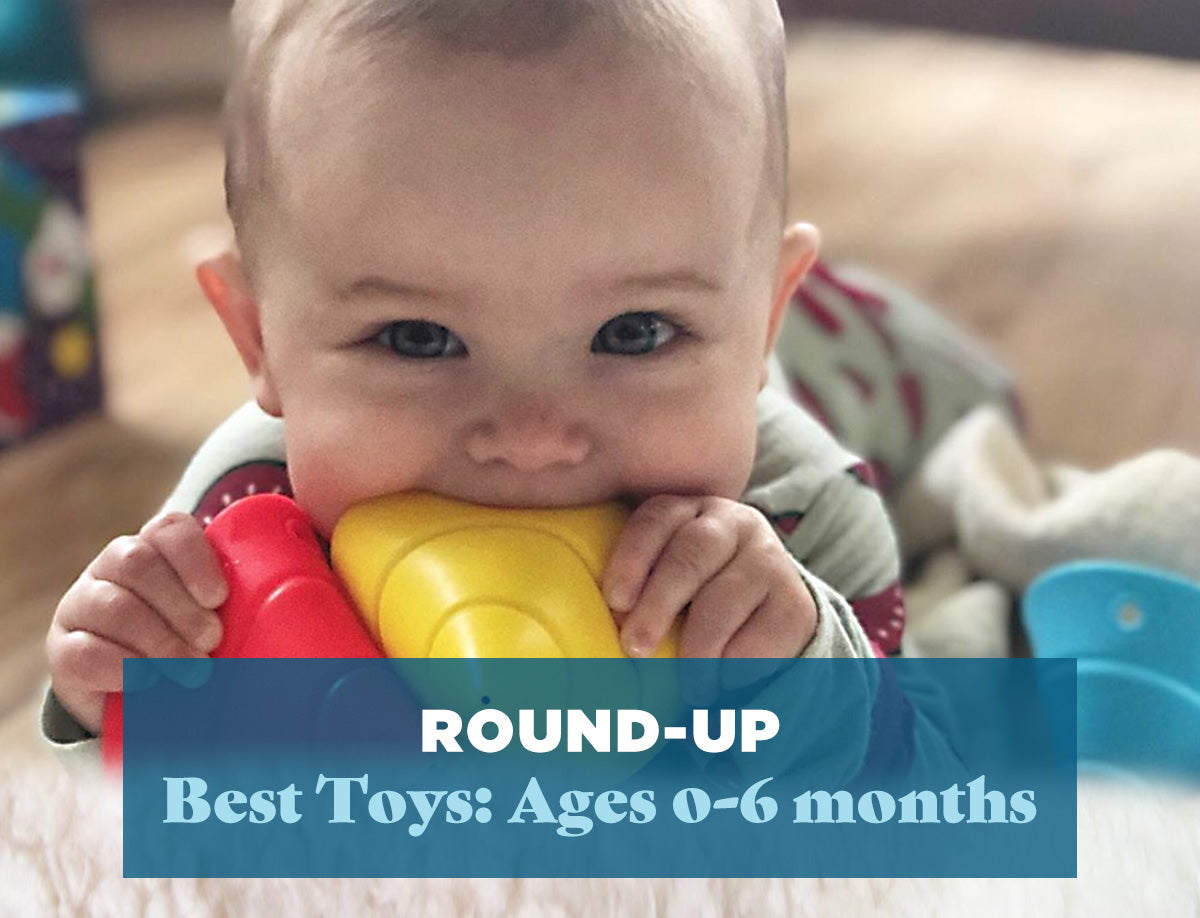 Round Up: The Best Toys for Ages 0-6 Months
