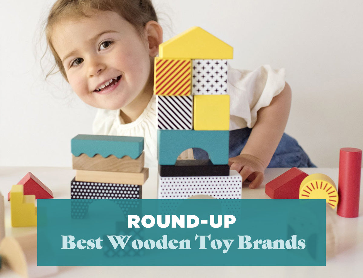 eco friendly toys hand made toys plastic free toys Children\u2019s wooden building blocks