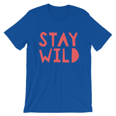 Stay Wild - Unisex, Relaxed Fit t-shirt