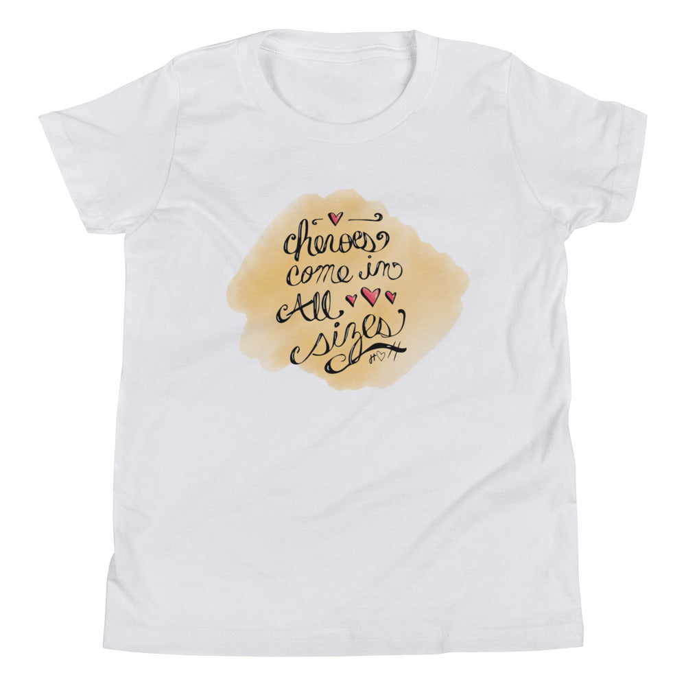 Heroes Come in All Sizes Kiddo T-Shirt