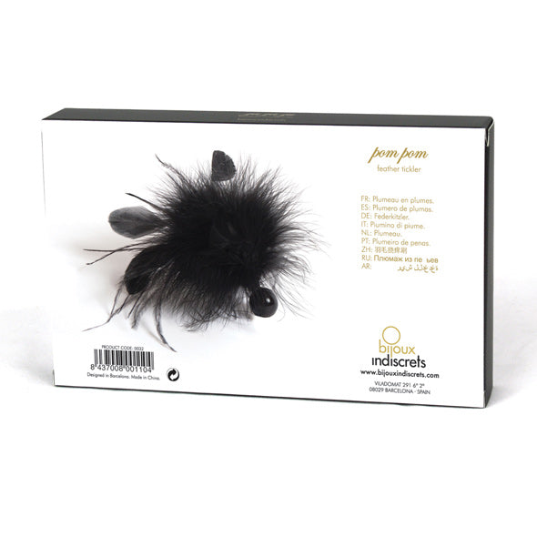 Bijoux Indiscrets Pom Pom Feather Tickler - Erotes.be