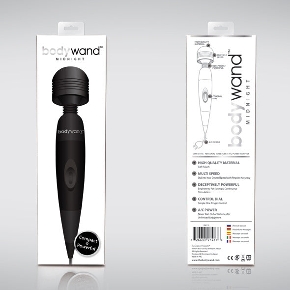 Bodywand Midnight Plug-In Vibro Masseur - Erotes.be