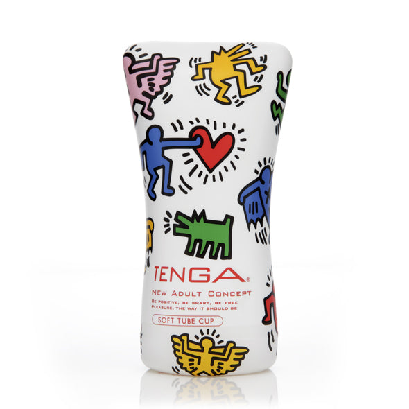 Tenga Keith Haring Soft Tube Cup - Erotes.be