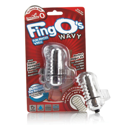 The Screaming O The Fingo Wavy Vibromasseur à Doigts