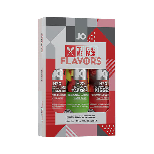 System JO Tri Me Triple Pack Flavors - Erotes.be