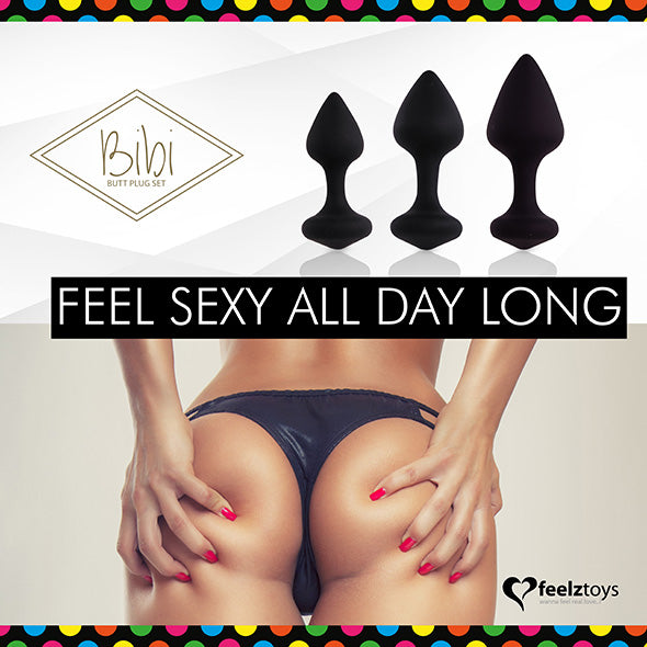 Feelztoys Bibi Plug Anal Set 3 pcs - Erotes.be