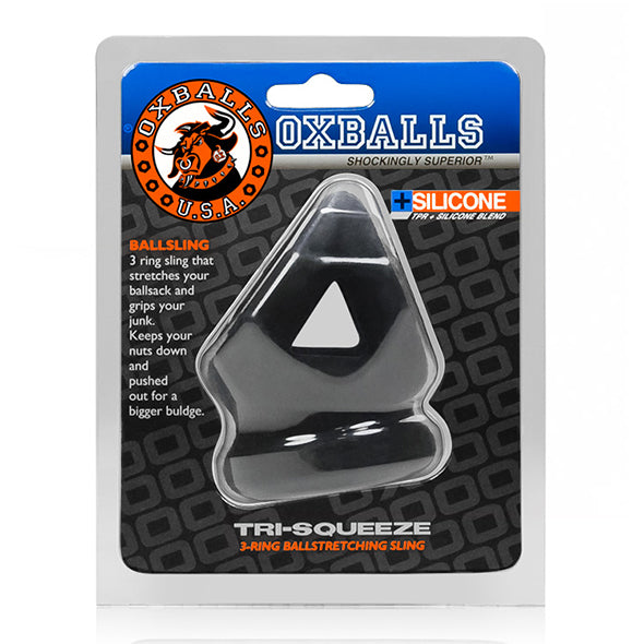 Oxballs Tri-Squeeze Cocksling & Ballstretcher