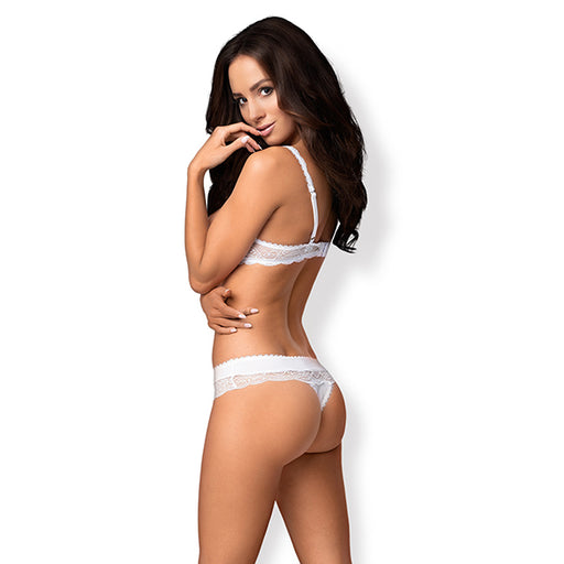 Obsessive Miamor Ensemble Lingerie 2 Pieces Blanc - Erotes.be