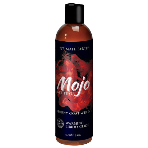 Intimate Earth Mojo Horny Goat Weed Libido Lubrifiant chauffant 120 ml - Erotes.be