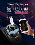 Handsfree Call Car Charger, Wireless Bluetooth Stereo Adapter