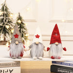 Christmas Santa Doll-Decorations Faceless Doll