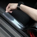 Car-styling Carbon Fiber Strip Bumper Decorative Strips Door Sill Protection Accessories