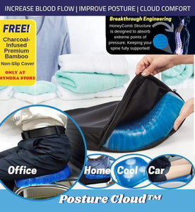 The Astonishingly Comfortable Cushion  Egg Sitter Support Cushion