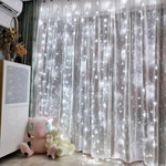 (Hot sale! Discount Code:S5)Garland LED Curtain Icicle String Light