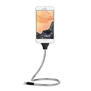 (BUY 2 FREE SHIPPING) Flexible Lazy Phone  Bracket USB Charging Cable