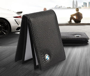 Car Driver's License Leather Card Package Leather Wallet