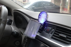 Car creative color light ashtray