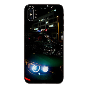 Creative Phone Case BMW M/BENZ Logo For iPhone