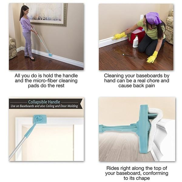 Adjustable Conforming Baseboard Cleaner ( Buy 2 Get Extra 15% Off )