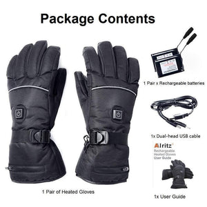 (Free Shipping)2019 Battery Heated Gloves