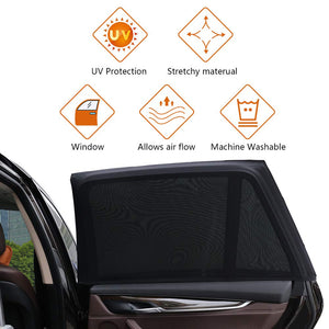 (2 Pack)Car Side Window Baby Sun Shade ,Fits All Cars!