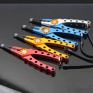 Fishing Pliers Fish Grip Tools Set-- Fish Gripper Grabber Grip Holder
