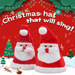 (Buy 2 Free Shipping)Glowing Christmas Hat That WillSing,Moving Turkey Hat