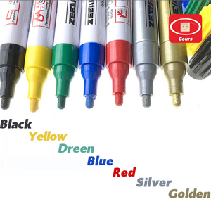 🌟🌟🌟Today Big Sale-Waterproof, Non-Fading Tire Paint Pen