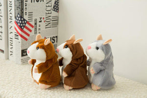 NICE Home Lovely Talking Plush Hamster Toy