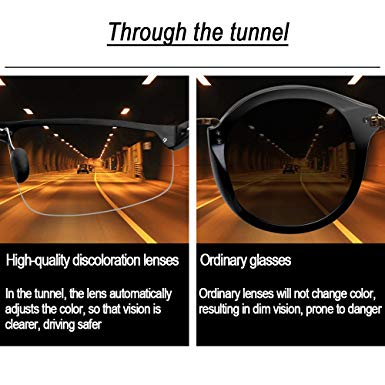 Night Drive Make Driving Easy Day & Night HD Vision Goggles Anti-Glare