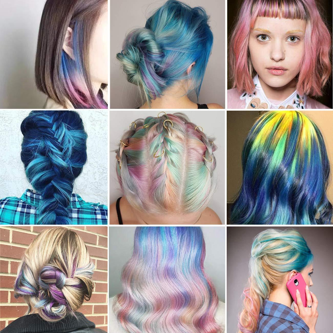 10 Colors Hair Dyeing,Halloween Christmas Cosplay Parties
