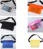 Outdoor drifting waterproof bag waist pack