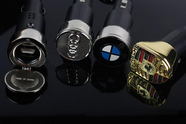 Hot Sale!!! Universal car car phone car charger cigarette lighter double usb