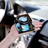 (Buy two free shipping) Car perfume decoration,Crystal car perfume seat