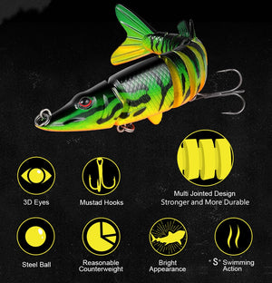 2019 New Dancing Minnow Fishing Lure【50% OFF+BUY 5 FREE SHIPPING】