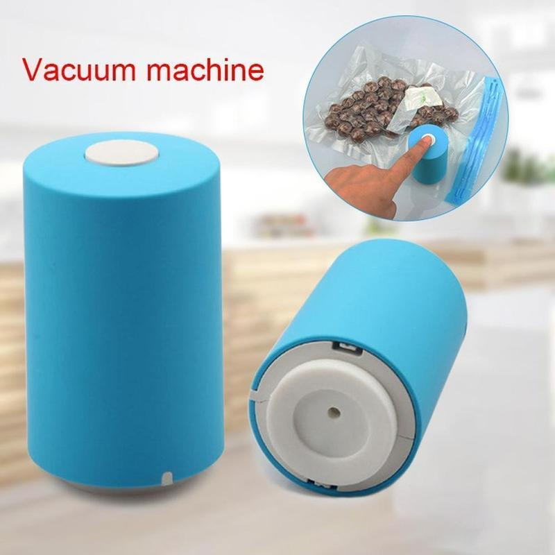 Mini Automatic Compression Vacuum Pump USB Tool With 5 Bags