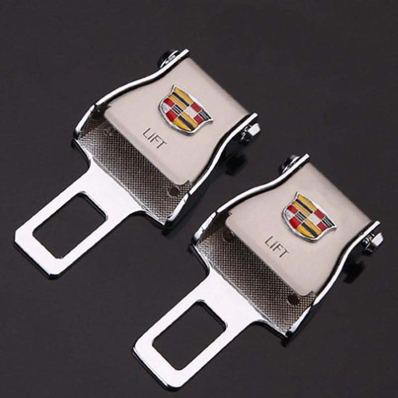 Buy 2 Free Shipping-Stylish Car Seat Belt Socket With Original Car Logo