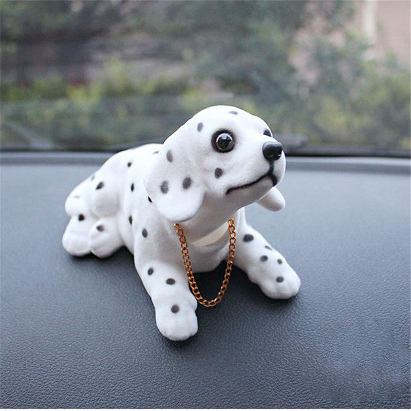 Car Ornament Nodding Dog Head-Shaking Dog