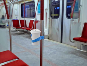 Factory Outlet-(Buy 2 Get 1 Free)Portable Cup Holder For Use On Trains, Buses, and Subways