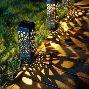 [Last day promotion 60% OFF]Solar Powered Vintage Garden Lamp