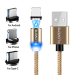 Mobile Phone Magnetic Absorption USB Charging Cable