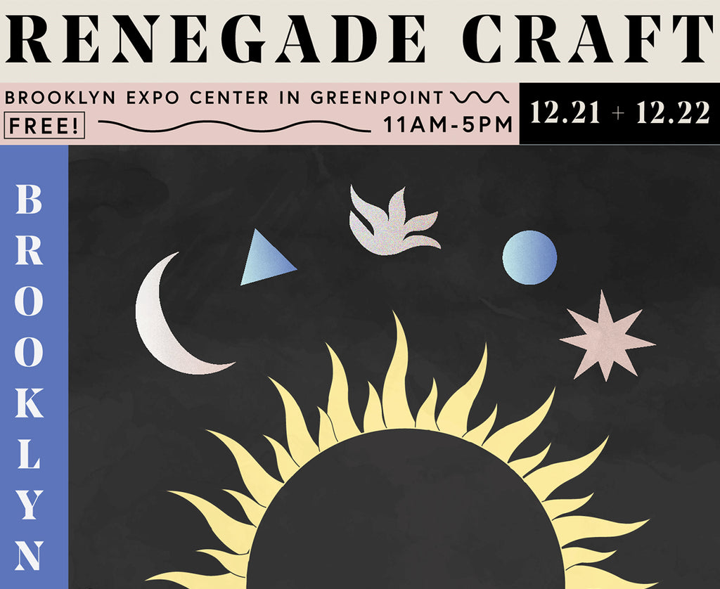 POP-UP Store at Renegade Craft