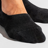 Basic No Show Socks - Black