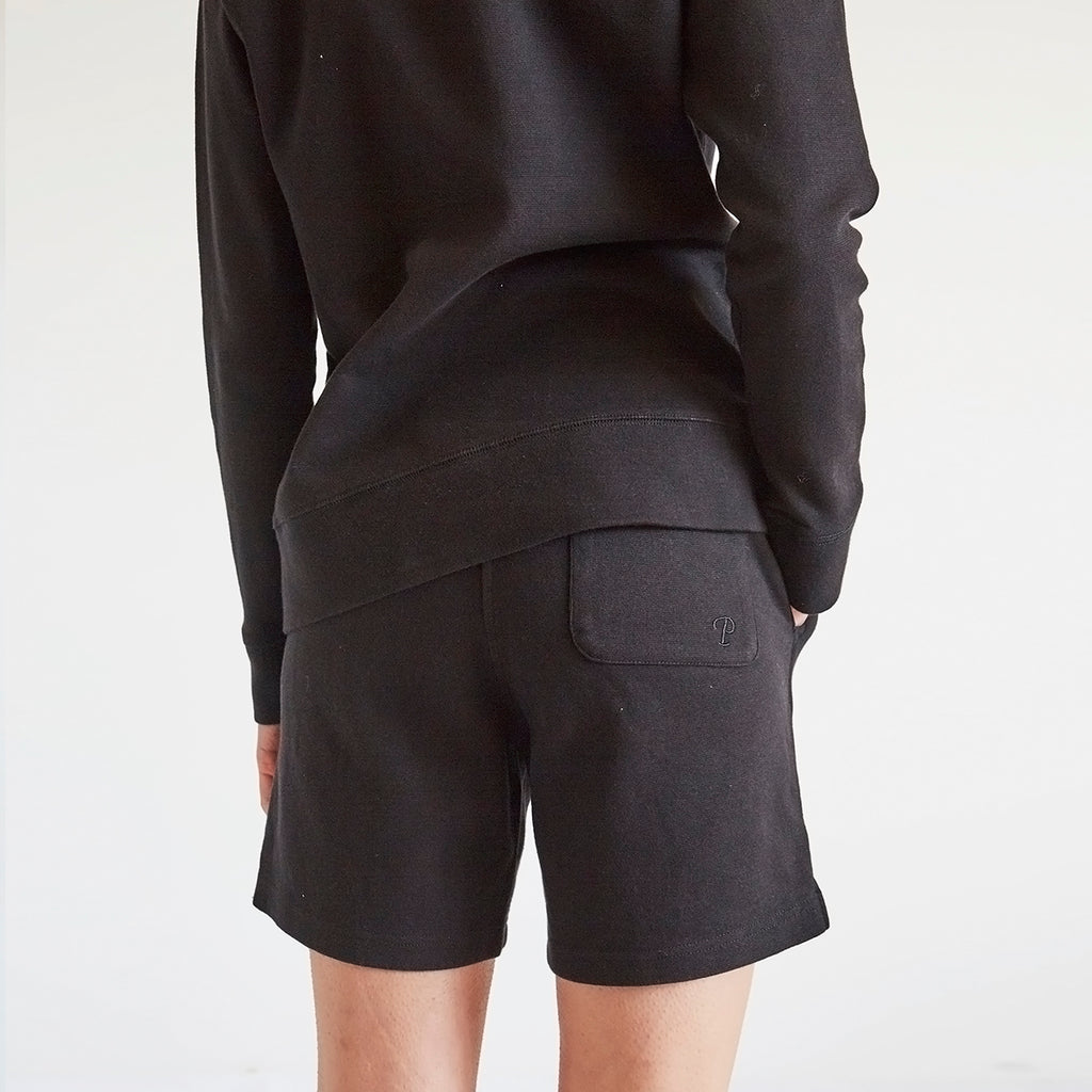 All Day Clean Sweatshort - Black