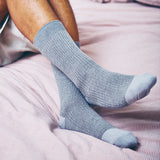 PAPER PROJECT Odorless rib crew socks