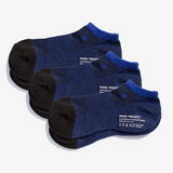 All Day Pile Ankle Socks 3 pairs - Blue
