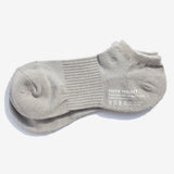 All Day Pile Ankle Socks - Grey