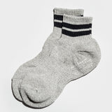 Short Hiking Socks 3pairs - Grey