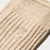 Hemp Heather Crew Sock 6pairs - Oatmeal