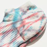 Tie Dye All Day Pile Ankle Sock - Paint